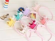 Crown Lace Children's Hair Cloth Headband Headdress Hair Accessories 455S