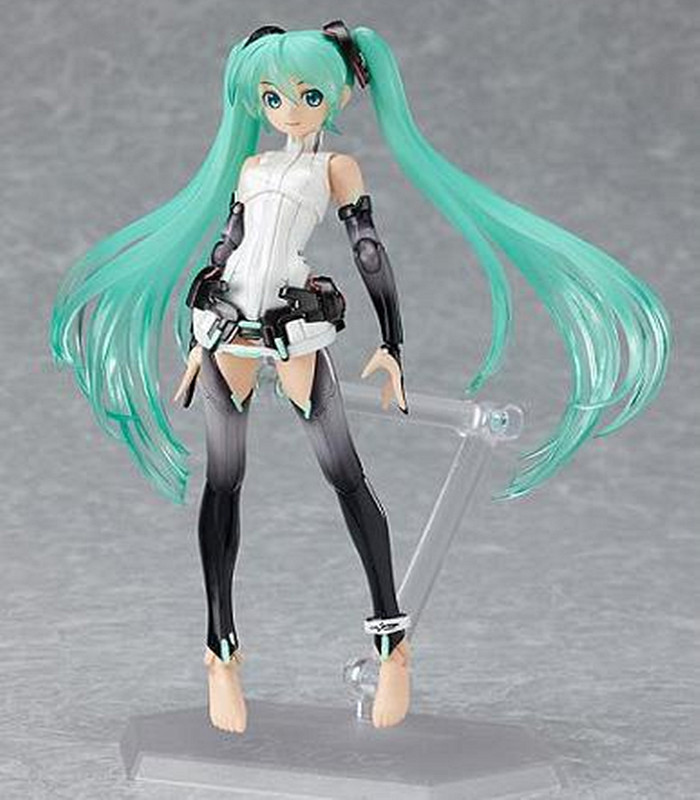 Japan Anime Figma 100 Hatsune Miku Doll PVC Action Figure Brinquedos Anime Figure Kids Toys Puppet Vocaloid Series Juguetes image