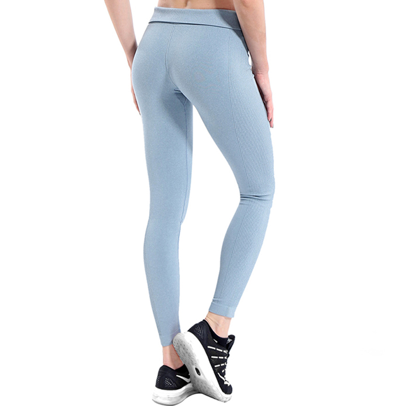 BESGO Sport Legging For Women Fitness Solid Colors Push Up Seamless High Elastic Workout Yoga Pant Profession Exercise Trousers