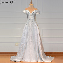 Grey Sweetheart Crystal Sexy Prom Dresses Gowns Serene Hill