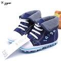 Venda quente meninos primeira caminhantes solas de algodão bebê Sneakers suave Sole menino infantil sapatos de bebê meninos sapatos de lona sapatos de bebê GZ084