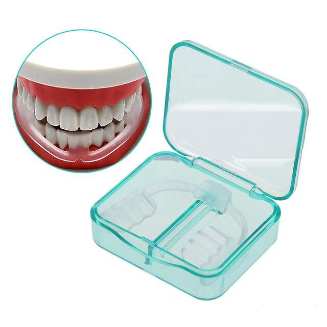 New Dental Dente Dentes Bruxismo Grinding Mouth Guard Prevenir Noite