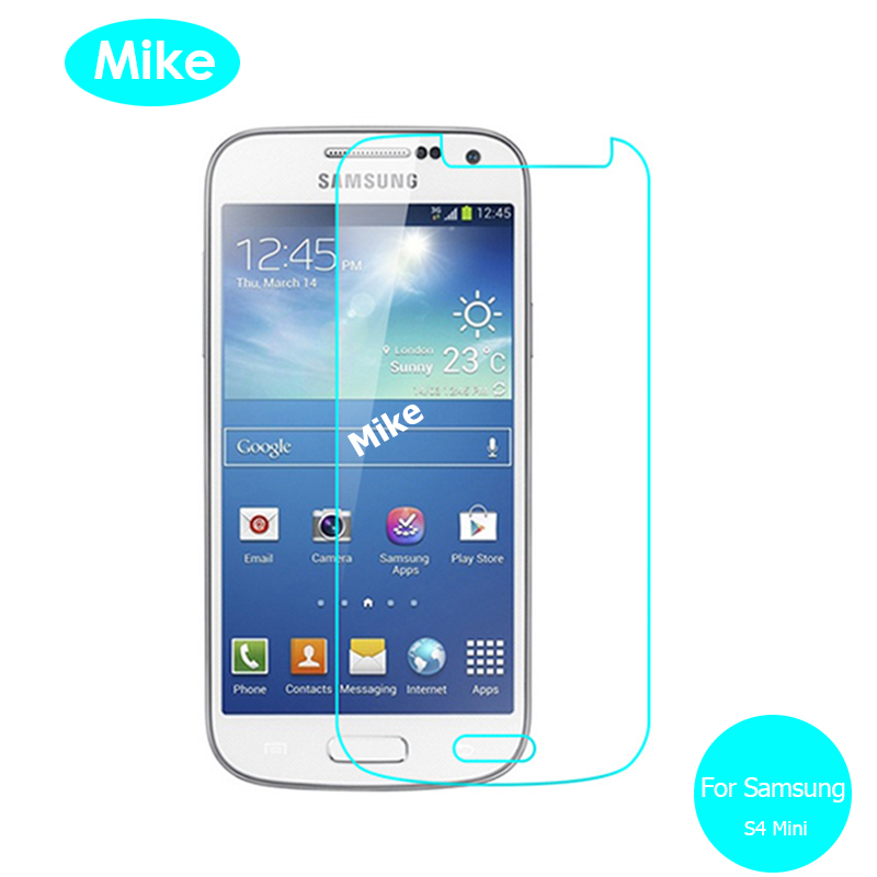 2PCS For <font><b>Samsung</b></font> Galaxy <font><b>S4</b></font> <font><b>mini</b></font> Tempered <font><b>glass</b></font> Screen Protector Safety Protective <font><b>Glass</b></font> on S 4 S4mini Gt-I9192 Gt-I9195 I 9192 image