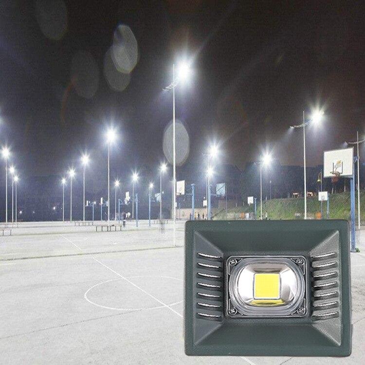 הארה 2018 החדש LED מבול מנורת IP65 עמיד למים 260 V LED זרקור מנורת Gargen Refletor LED תאורה חיצונית