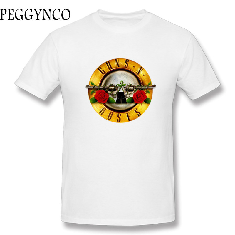 2017 New Fashion Funny Guns N Roses Rock Band Cotton Funny t shirt
