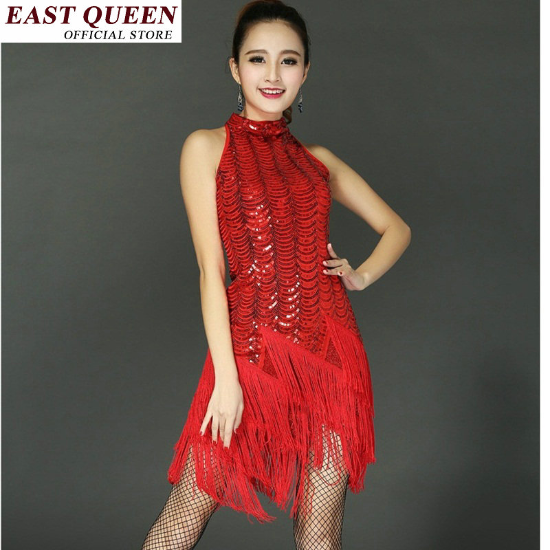 Latin Dance Dress Dance Clothes Hot Sexy Stage Women -6253