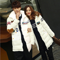 Winter New Autumn Winter Lover's Casual Hooded Coat Men Women High Quality Cotton-padded Jacket
