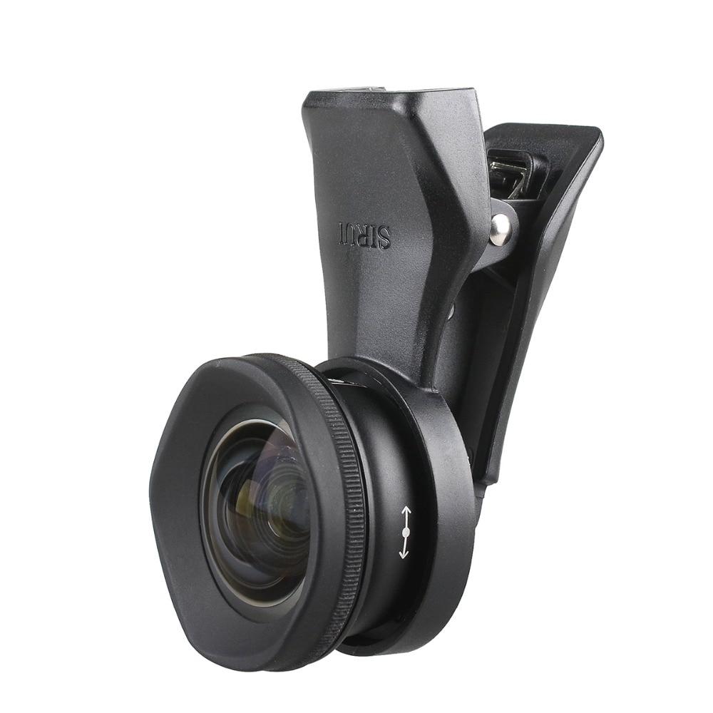 Sirui 18MM grand Angle objectif de téléphone HD 4K caméra téléphone objectif 60MM téléobjectif pour iPhone Xs Max X 8 7 Huawei P20 Pro Samsung S8 S9