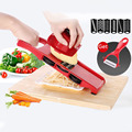 Creative Spiral Slicer Adjustable Blades Vegetable Cutter Potato Fries Shredder With Grater Kitchen Accessories