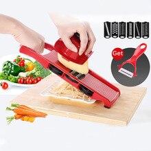 Creative Spiral Slicer Adjustable Blades Vegetable Cutter Potato Fries Shredder With Grater Kitchen Accessories