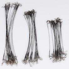 72 Lure Coated Leader Wire Trace Pike Sea Fishing 15/20/25cm Fishing Accessories Long Fishing Wire Equipment