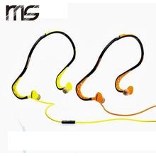 Free Shipping  New Neckband Sports Earphones Waterproof Headphones Stereo Headset