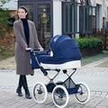 Envío libre Coolbaby familia real bebé carretilla de dos vías amortiguadores cochecito de bebé de cuatro ruedas cochecito de bebé del coche