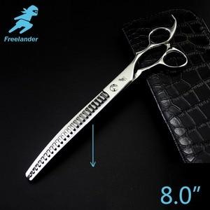Image 1 - Freelander8.0inch Professional Shears Dog Pet Grooming Scissors Polishing Tool Thinning  Scissors  High Quality
