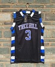 Nova LIANZEXIN NO. 3 A versão cinematográfica de One Tree Hill Lucas Scott  Precisa Duplo Costurado basketball malha Jersey Dos H.. bc5685ccd