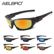 цена на HD Polarized Sunglasses Men Night Vision Cycling Driving Sports Sun Glasses Women Vacation Luxury Brand Design Gafas De Sol