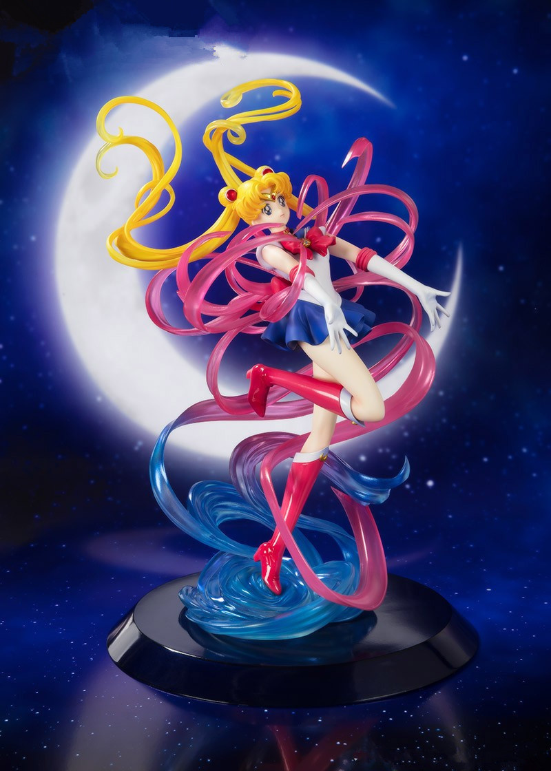 JAPANESS ANIME Sailor Moon Crystal Girl TAMAMO CASTER PVC ACTION TOY FIGURE MODEL ADULT BRINQUEDO Girl Gift