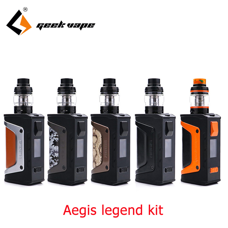 Vape kit Geekvape Aegis Legend Kit with aegis legend 2 18650 batteries Geekvape aegis 200w legend box mod Aero mesh coil TankVape kit Geekvape Aegis Legend Kit with aegis legend 2 18650 batteries Geekvape aegis 200w legend box mod Aero mesh coil Tank