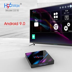 Image 2 - H96 מקסימום 9.0 אנדרואיד טלוויזיה חכמה תיבת 4GB + 64GB אלחוטי IPTV תיבת 4K USB סט למעלה תיבת WiFi 5G עבור נטפליקס Youtube Google Play