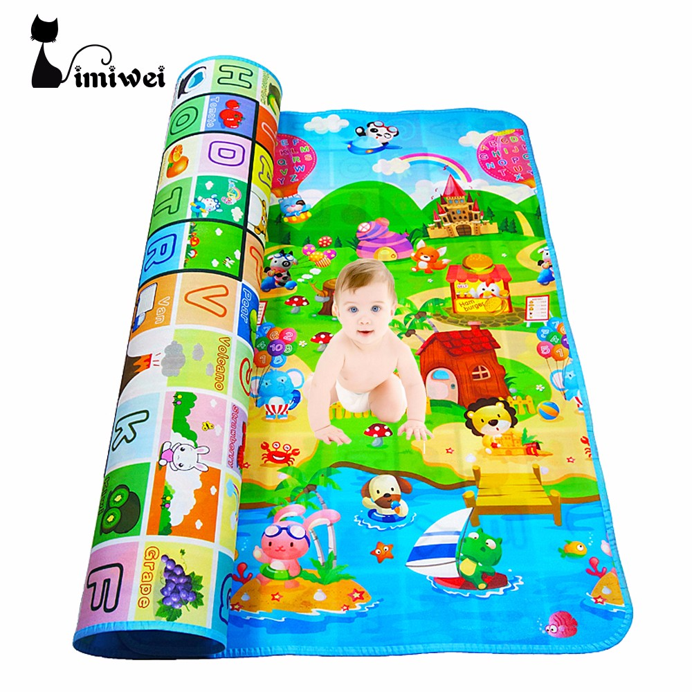 IMIWEI Babyspielmatte Matte Für Kinder Entwickeln Teppiche Puzzle Teppiche spielen Matten Matte Baby Spielzeug Für Neugeborene Kinder Teppich Goma Eva schaum