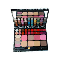 Professional 72 Color Beauty Cosmetics Eyeshadow Palette Set 44 Eyeshadow 20 Lip Gloss 8 Blush Makeup
