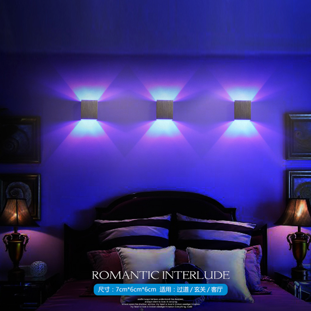 Led Bedroom Lights Decoration Aliexpresscom Buy Tanbaby 3pcs Lot Sample Modern Wall Led Light