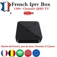French IPTV GOTiT S905 4K Smart Android TV Box 640 NEOTV Portugal IPTV Arabic GermanyTunisia Morocco