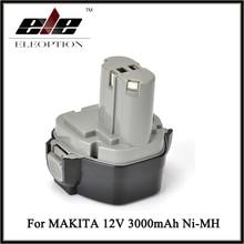 12 В Расширенный Ni-MH 3.0AH 3000 мАч для MAKITA Батарея 1234 1233 1235F 192698-8 193157-5 батареи аккумуляторная дрель Мощность инструмент