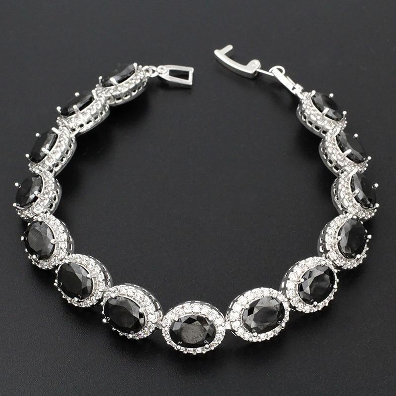 Black Bracelet Womens: Fashion Jewelry Women Bracelets For Ladies High Quality
