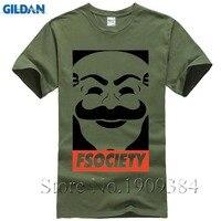 Mr Robot T Shirts Men Fashion TV Show Logo T Shirt Tees Modal Short Sleeve Mr