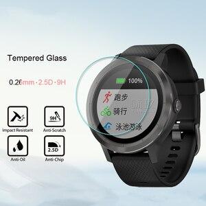 Image 5 - 5 Pcs/Lot For Garmin Vivoactive3 Tempered Glass 9H 2.5D Premium Screen Protector Film For Garmin Vivoactive 3 Smart Watch