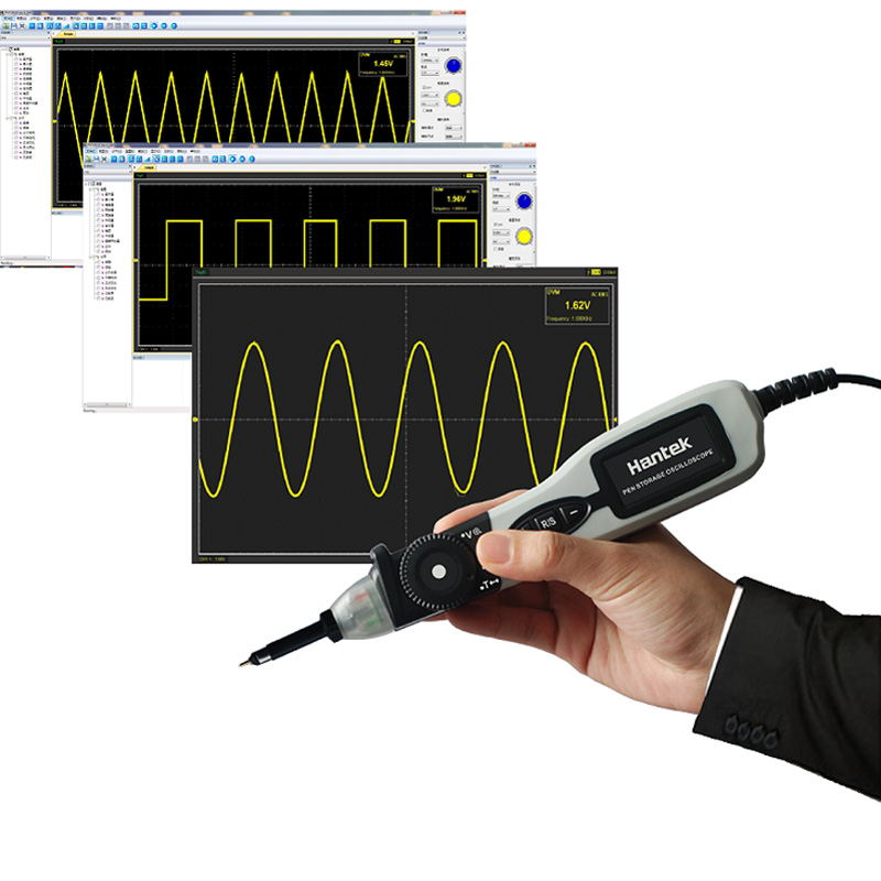 Hantek PSO2020 USB Pen type Storage Digital Oscilloscope USB 1 Channel 20Mhz 96MSa/s Diagnostic-tool осциллограф hantek 6022be usb storag 2channels 20 48msa s