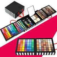 مجموعة ماكياج 177 ألوان مزيج عدة maquiagem eyeshowed الشفاه بريق خجل المخفون الكريمات ماكياج كيت التجميل makeu