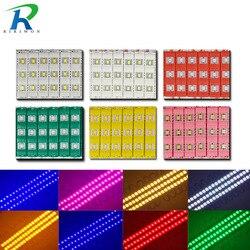 20ps 10ps IP65 5730 3 modułu led wodoodporny ciepły biały  czysty biały  czerwony  zielony  niebieski  różowy  żółty formowanie wtryskowe światło dla DC 12V w Moduły LED od Lampy i oświetlenie na