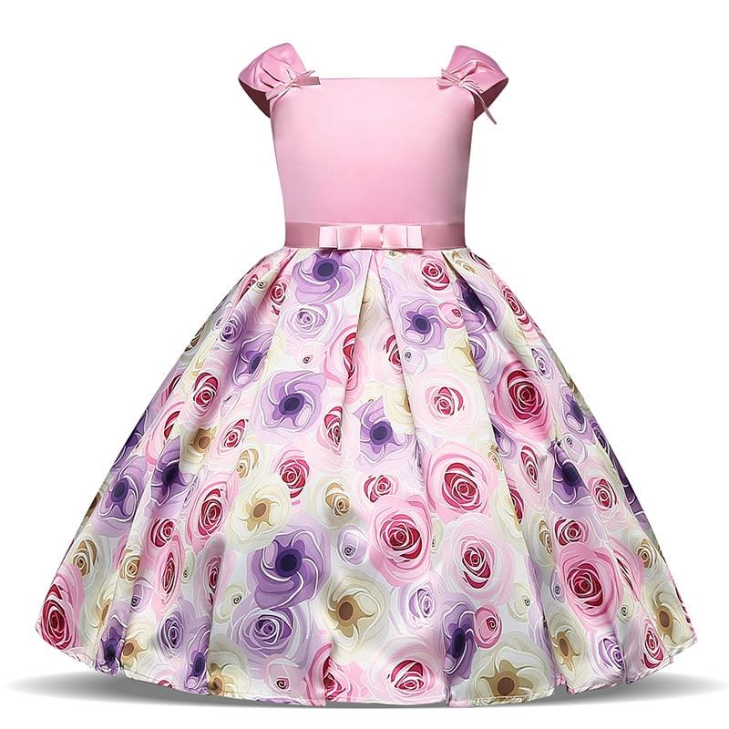 3 10 Years Kids Floral font b Dress b font Summer Elegant Girl font b Dress