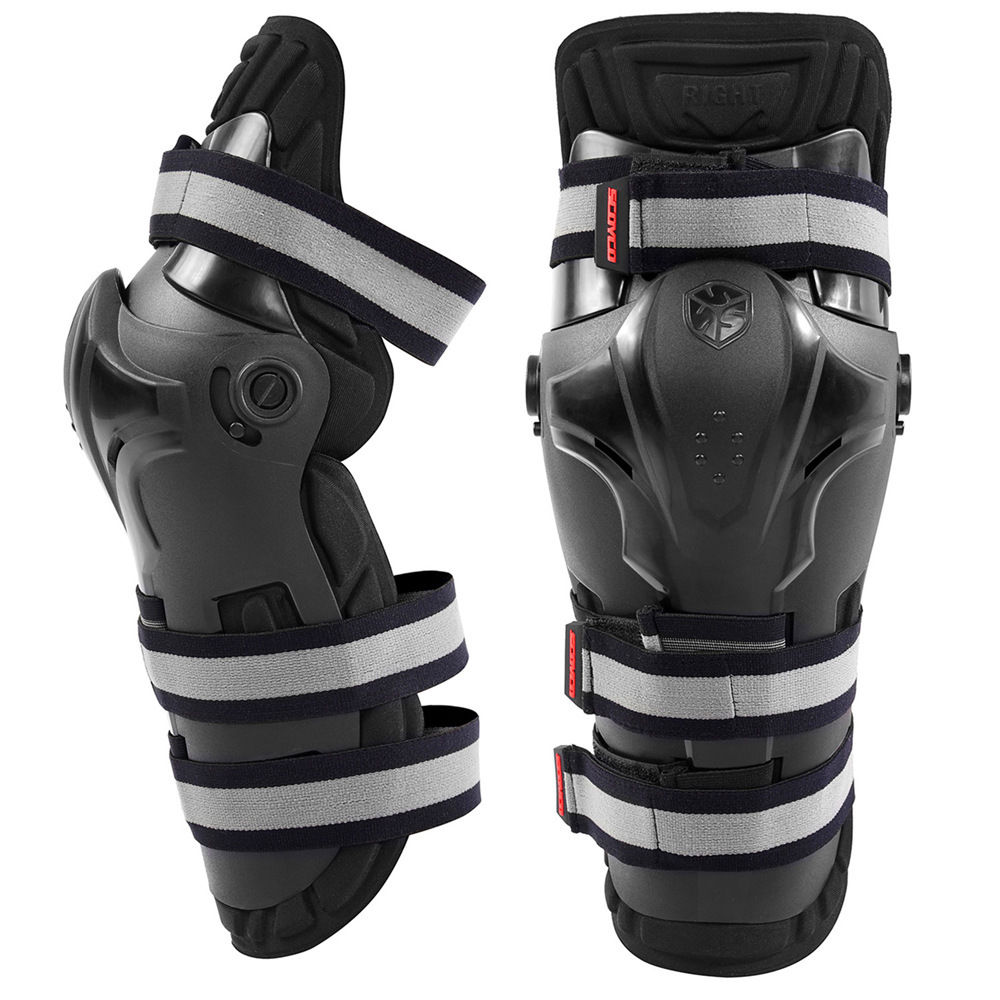 Motorcycle Racing PP Shell Knee Pads Protective Gear Motocross Protection Guards