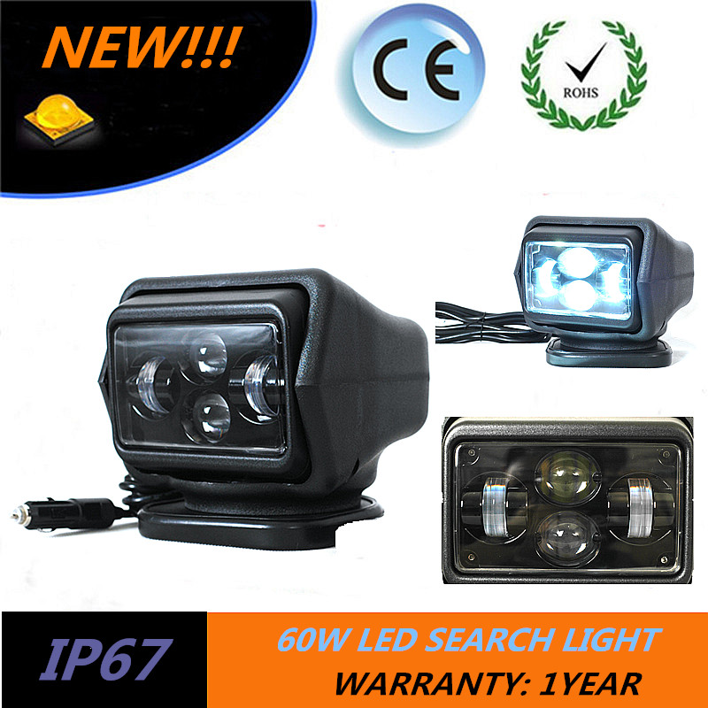 LED Auto Wireless Search Spot Light Remote Control Work light Lamp Led Search Light Offroad For All Cars Boat