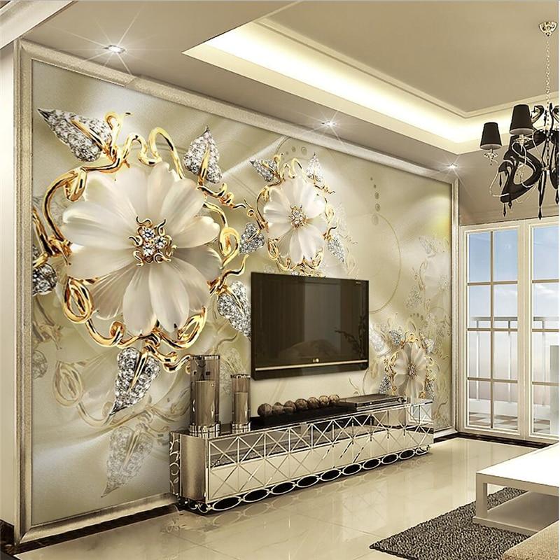 super popular a7110 85016 Beibehang papel de pared, estilo europeo Palacio flor TV sofá Fondos  wallpaper 3D fresco pegatina dormitorio tamaño personalizado