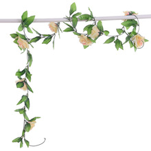 New Arrival  Rose Flower Rattan Home Wedding Decor 8 Colors Wine Bouquet Party Decoration With 9 Flowers