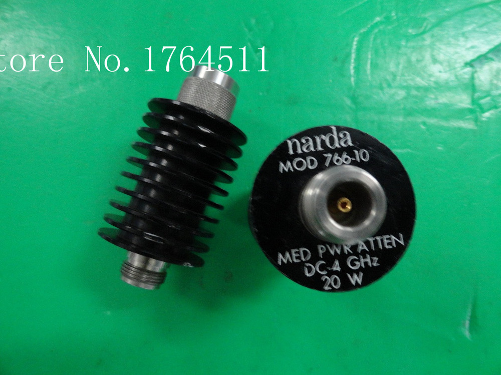 [BELLA] The Supply Of Narda 766-10 DC-4GHZ 10DB Coaxial Fixed Attenuator 20W