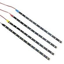1Pcs SMD3528 Waterproof Car LED Strip 30/60 CM Car Mobile Cy