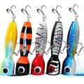 Funadaiko приманки для Поппера  глубокая морская деревянная приманка для рыбалки  приманка для джиггинга  металлическая медленная приманка  пла...