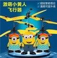 Nova Despicable Me Minion Sensor De Vôo RC Helicóptero Voando De Fadas Rc Plane Toy Kids Presente Despicable_ME2 navio Livre