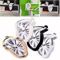 Melting Clock/New Surrealist Irregular Melting Wall Clock Novelty Salvador Style Hanging Clock