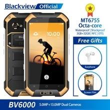 Blackview BV6000 IP68 Su Geçirmez 3 GB + 32 GB MT6755 Octa çekirdekli 4.7 inç 4G Smartphone 4500 mAh pil Hızlı Şarj 13.0MP Kamer...
