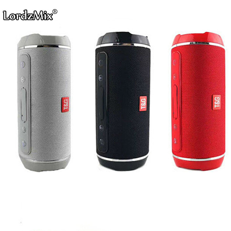 Bluetooth Speaker Outdoor Portable Wireless audio loudSpeaker columns sports with Fm Radio Tf Card MP3 Player for phone lordzmix