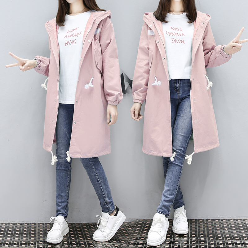 Pregnant women clothes 2018 new style pregnant women coat long loose hood zipper fashion solid cotton jacket for pregnancy maternity clothes new stely fashion loose pure color cloak jacket clothes for pregnant women coat