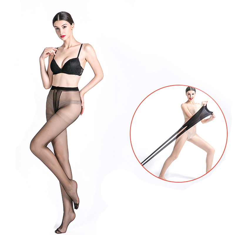 Sexy Seamless Tights Pantyhose Black Nylon Super Elastic Magical Silk Stocking for Women Collant Breathable Pantyhose Medias