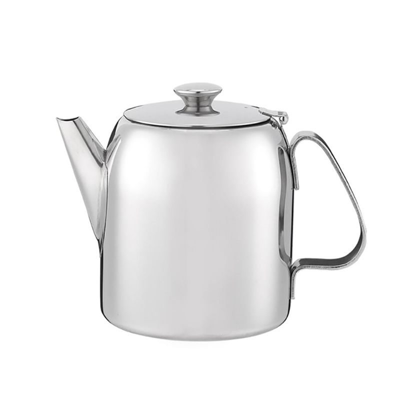 Stainless Steel Coffee Pot Cold Water Kettle Juice Pot Afternoon Tea Coffee Pot Hotel Restaurant Drinkware