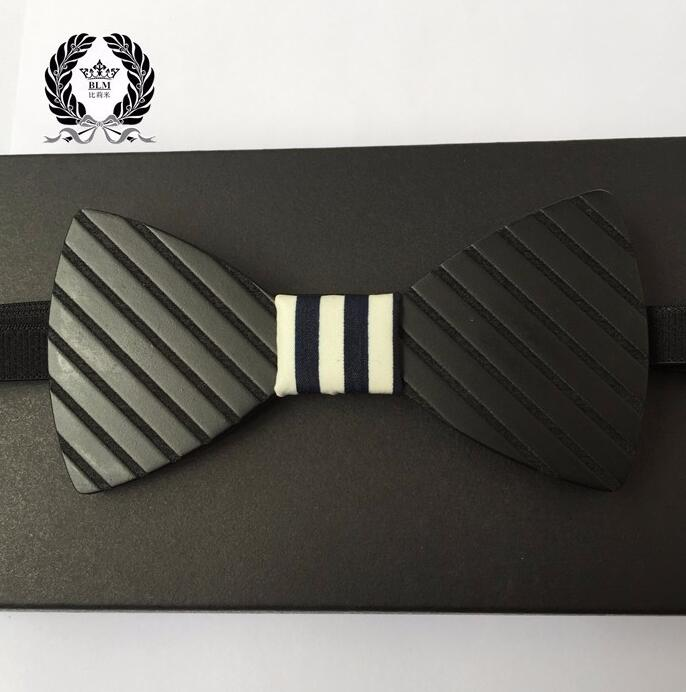 gravatas Hot Fashion Mens Wooden Bow Tie Accessory Wedding Gifts Bamboo Wood Bowtie For Men christmas